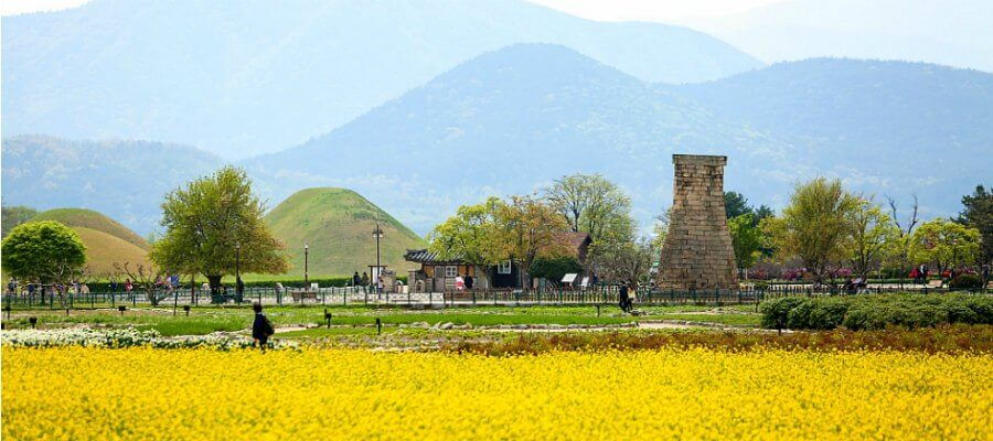 VIAJE A GYEONGJU, COREA - La torre astronmia de Silla, Gyeongju