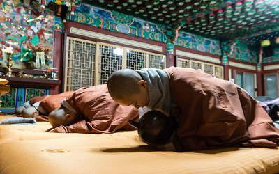 estancia de templo budista
