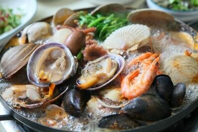 Comida recomendada Sopa de mariscos